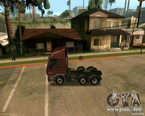 Iveco Stralis for GTA San Andreas left view