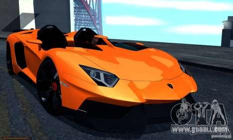 Lamborghini Aventador J for GTA San Andreas