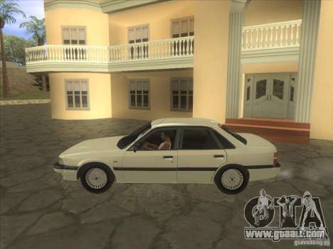 Mazda 626 DC 1986 for GTA San Andreas left view