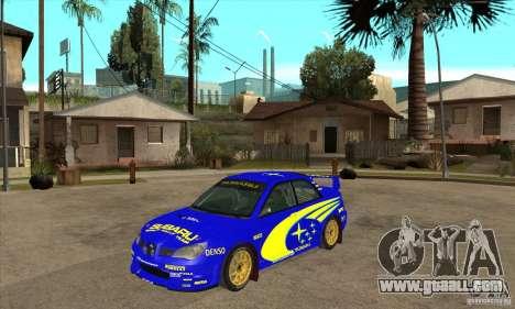 Subaru Impreza STi WRC wht1 for GTA San Andreas left view