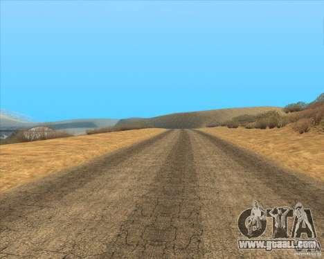 Desert HQ for GTA San Andreas ninth screenshot