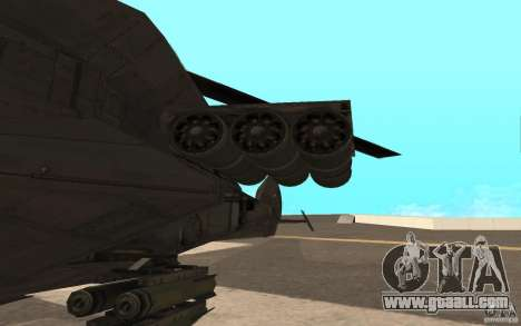 MQ Drone from BO2 for GTA San Andreas left view