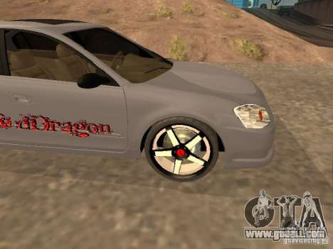 NISSAN ALTIMA for GTA San Andreas side view