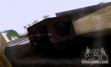 Volvo F10 for GTA San Andreas left view
