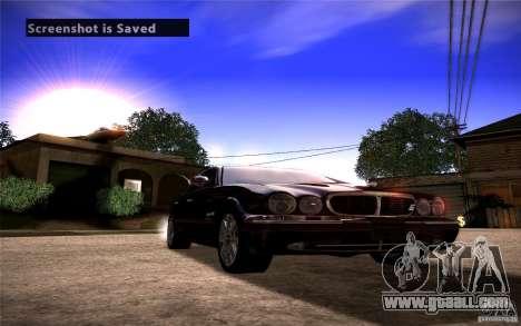 Jaguar Xj8 for GTA San Andreas right view