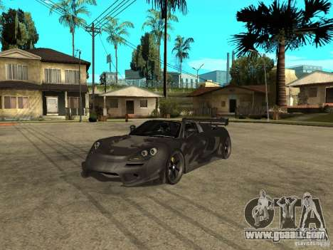 Porsche Carera GT Tuned for GTA San Andreas