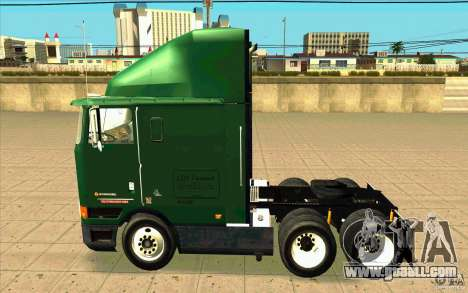 Navistar International 9800 for GTA San Andreas left view