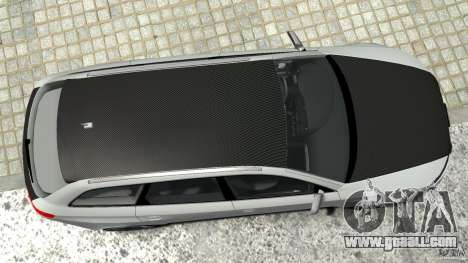 Audi RS6 Avant 2010 Carbon Edition for GTA 4 bottom view