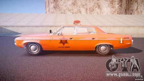 AMC Matador Hazzard County Sheriff [ELS] for GTA 4 left view
