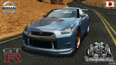Nissan GT-R 35 rEACT v1.0 for GTA 4