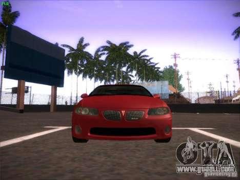 Pontiac FE GTO for GTA San Andreas left view