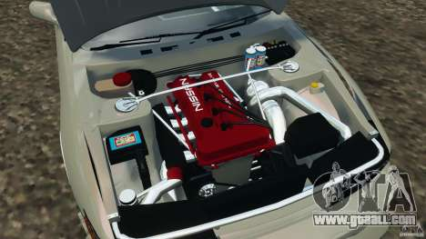 Nissan Silvia S13 DriftKorch [RIV] for GTA 4 side view