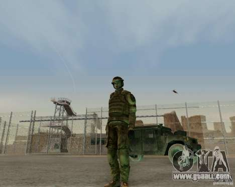 Tom Clancys Ghost Recon for GTA San Andreas third screenshot