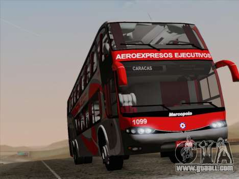 Marcopolo DD800 Volvo B12R for GTA San Andreas bottom view