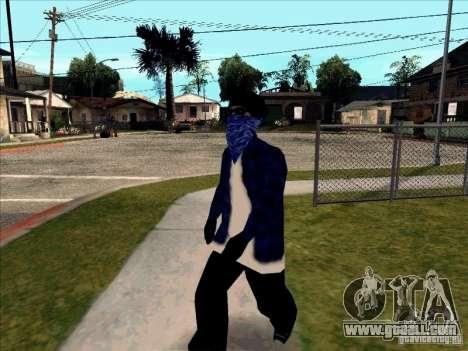Crips Gang for GTA San Andreas forth screenshot
