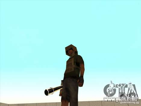 New Weapons Pack for GTA San Andreas fifth screenshot