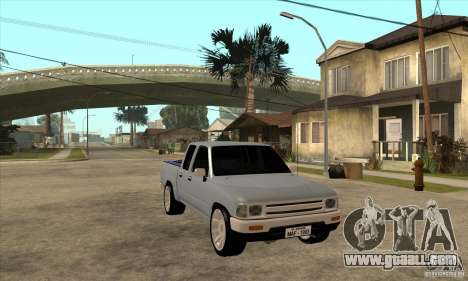 Toyota Hilux Surf v2.0 for GTA San Andreas back view