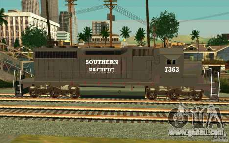 Southern Pacific SD 40 for GTA San Andreas left view