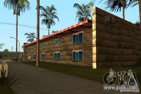 New textures of houses on Grove Street for GTA San Andreas forth screenshot
