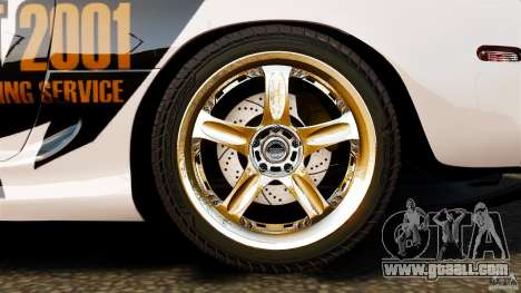 Toyota Supra Top Secret for GTA 4 upper view