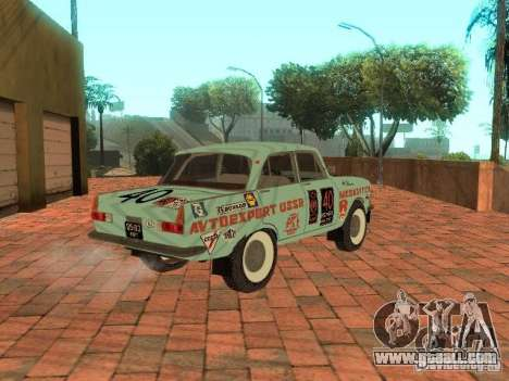 Moskvich 412 Rally Version for GTA San Andreas left view