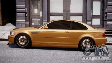 BMW M3 E46 Tuning 2001 v2.0 for GTA 4 left view