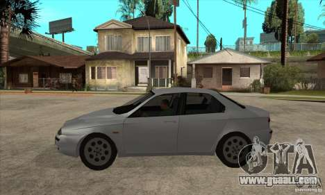 Alfa Romeo 156 2,5V6 2000 for GTA San Andreas left view