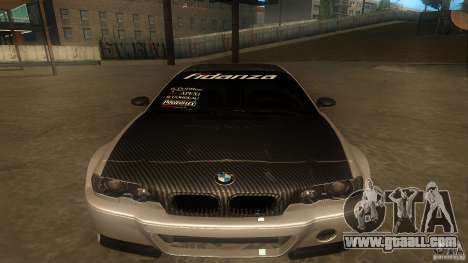 BMW E46 M3 Coupe 2004M for GTA San Andreas left view