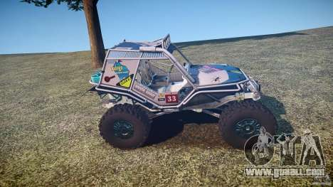 Mud Bogger v1.0 for GTA 4 side view