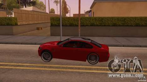 BMW M3 E92 Slammed for GTA San Andreas left view
