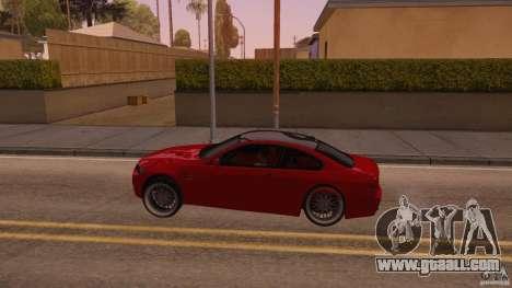 BMW M3 E92 Slammed for GTA San Andreas left view