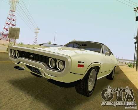 New Playable ENB Series for GTA San Andreas sixth screenshot