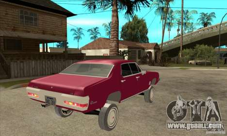 Pontiac LeMans for GTA San Andreas right view