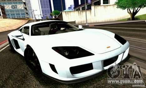 Noble M600 2010 V1.0 for GTA San Andreas right view