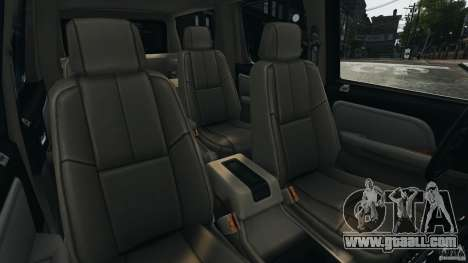 Chevrolet Suburban GMT900 2008 v1.0 for GTA 4 inner view