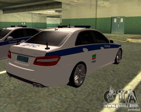 Mercedes-Benz E63 AMG W212 for GTA San Andreas right view
