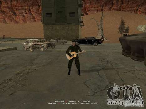 Soldiers of the Russian army for GTA San Andreas third screenshot
