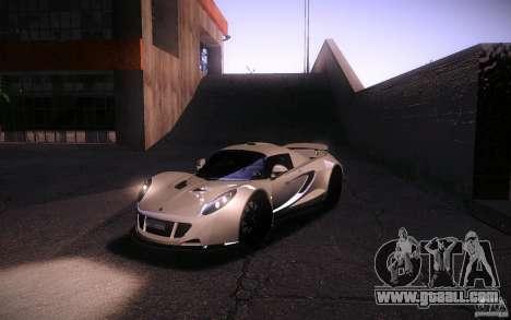Hennessey Venom GT 2010 V1.0 for GTA San Andreas side view