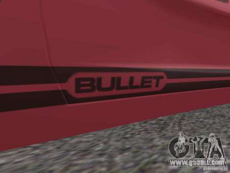 Bullet HQ for GTA San Andreas left view