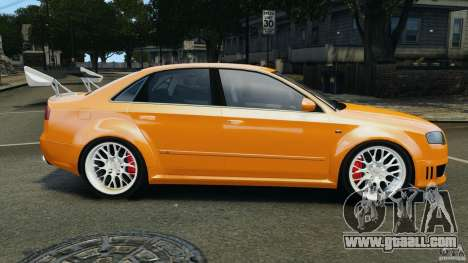 Audi RS4 EmreAKIN Edition for GTA 4 left view