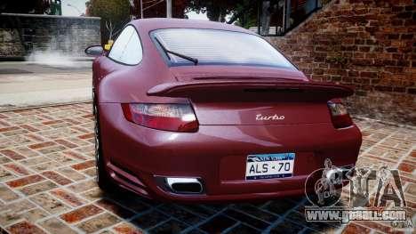 Porsche 911 (997) Turbo v1.1 [EPM] for GTA 4 back left view