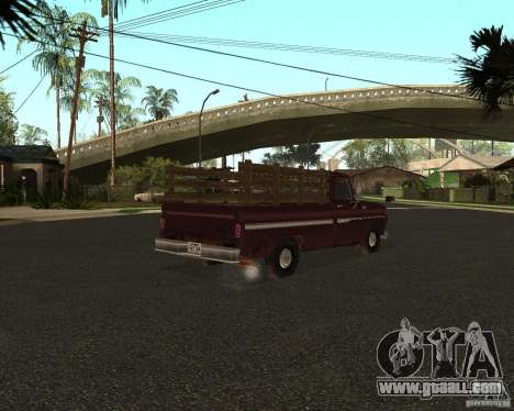 Chevrolet C 10 for GTA San Andreas left view