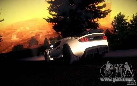 Hennessey Venom GT 2010 V1.0 for GTA San Andreas upper view