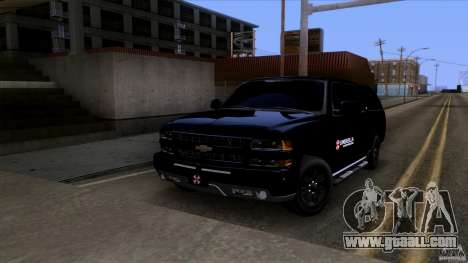 Chevrolet Suburban 2003 v2 for GTA San Andreas left view