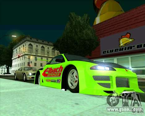 Mitsubishi Eclipse GS-t for GTA San Andreas left view