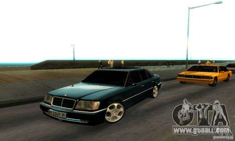 Mercedes-Benz W124 E420 AMG for GTA San Andreas left view