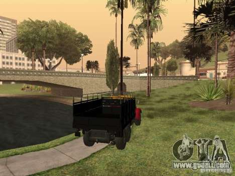 YAZ 214 for GTA San Andreas left view
