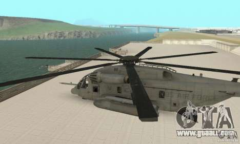 Sikorsky MH-53 for GTA San Andreas right view