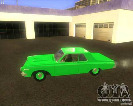 Dodge 330 1963 Max Wedge Ramcharger for GTA San Andreas left view