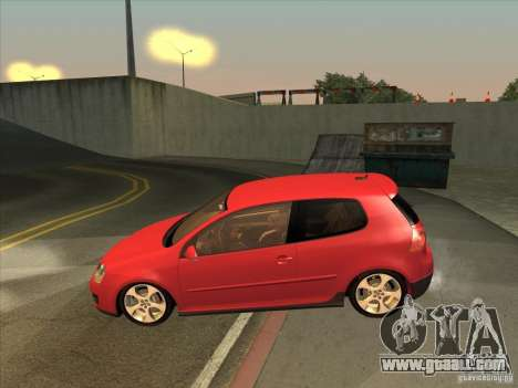 VW Golf Mk5 GTi - Stock: Tunable for GTA San Andreas left view